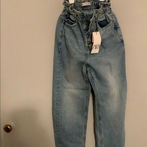 NWT Zara baggy jeans
